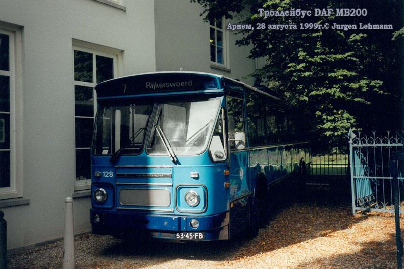 Арнем. DAF MB200 №128