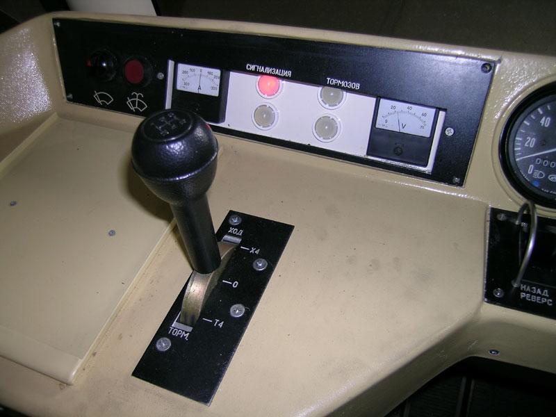 Нижний Новгород. Контроллер водителя имеет три фиксированные позиции (Т4-0-Х4), две псевдофиксированные позиции Т3 и Т5 и нефиксированные позиции Т1, Т2, Х1-Х3