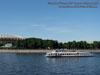Москва. Пассажирский теплоход Москва-99 рядом со стадионом Лужники