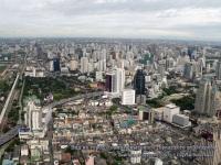 Бангкок. Вид на город с самого высокого городского небоскреба