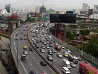 Бангкок. Пробки на городских магистралях - обычное явление для города