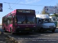 Донецк. МАЗ-104 037-58ЕА, Рута А048 AH4733AX