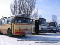 Донецк. ЛАЗ-695М 073-91ЕВ, Ikarus 250 026-78ЕА, БАЗ-А079 AH9981BA