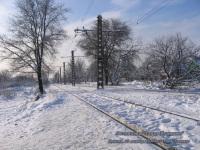 Донецк. Трамвайная остановка 1-го маршрута Улица Куинджи