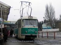 Донецк. Tatra T3 №3743