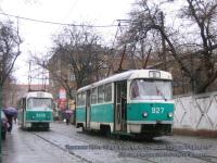 Донецк. Tatra T3SU №3927, Tatra T3 №3906