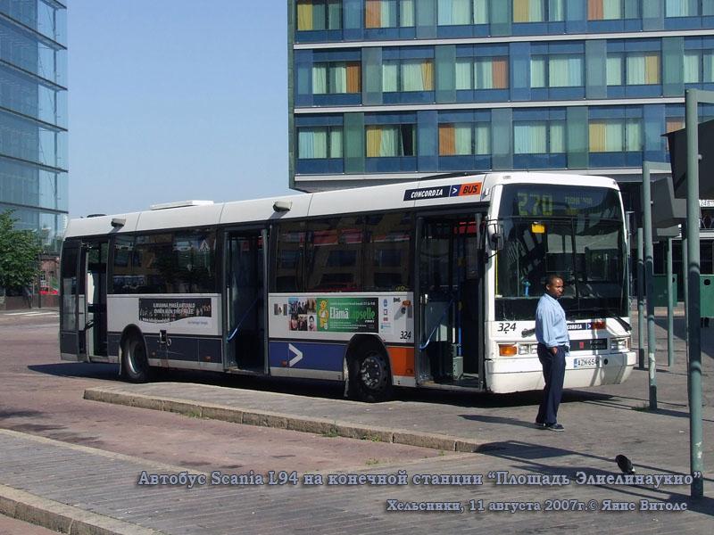 Хельсинки. Scania L94 AZN-654