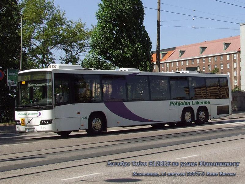 Хельсинки. Volvo B12BLE CYJ-148