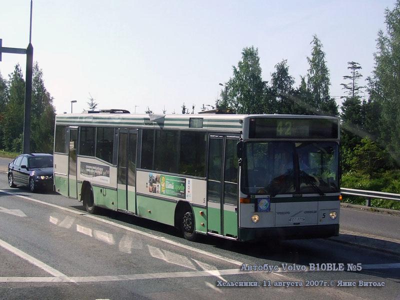 Хельсинки. Volvo B10BLE FFC-535