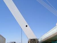 Иерусалим. Основание главной опоры трамвайного моста на пересечении улиц Герцеля и Яффо