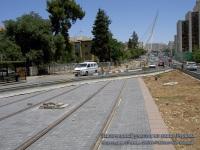 Иерусалим. Законченный участок на улице Герцеля