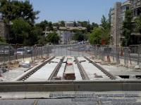 Иерусалим. Практически законченный участок на улице Герцеля - осталось положить плитку