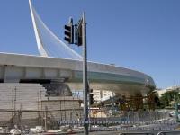 Иерусалим. Трамвайный мост на пересечении улиц Герцеля и Яффо
