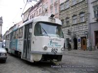 Львов. Tatra T4 №852
