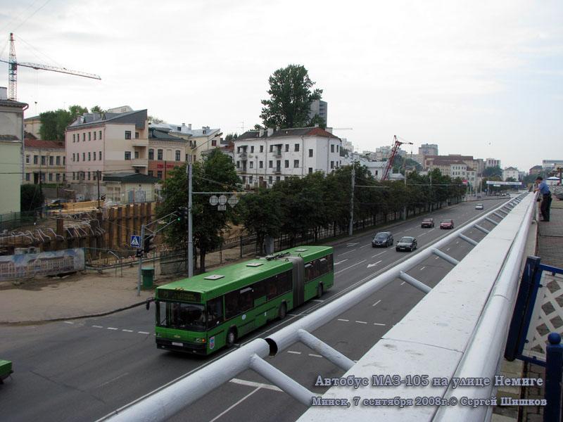 Минск. МАЗ-105 AA3374-7