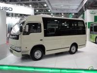 Москва. Новая разработка Таганрогского автомобильного завода - автобус TagAZ LC100 Bus
