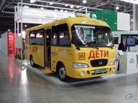 Москва. Школьный автобус Hyundai County