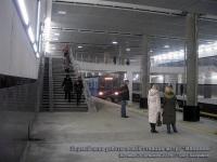 Москва. Первый день работы новой станции метро Мякинино
