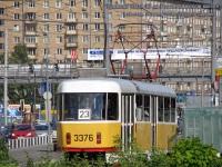 Москва. Tatra T3 №3376
