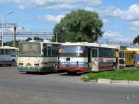 Великий Новгород. Ikarus 256 аа328, ЛАЗ-699Р аа934