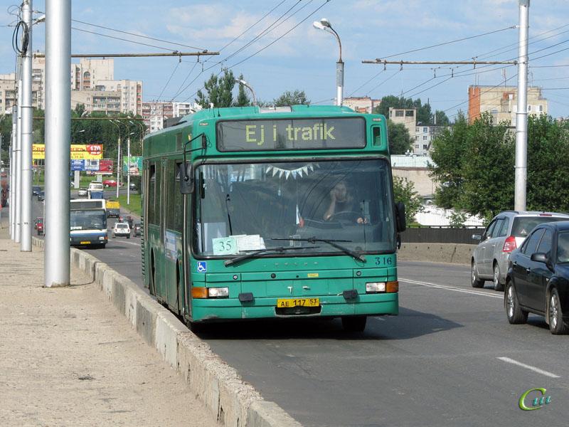 Великий Новгород. Volvo B10L-60 ае117