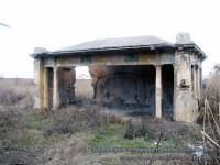 Одесса. Заброшенный трамвайный остановочный павильон постройки 30-40-х годов