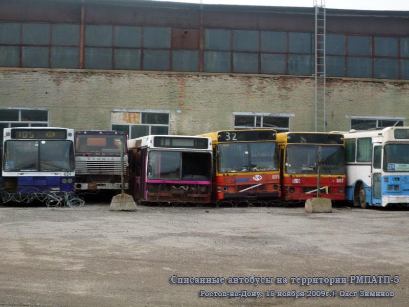 Ростов-на-Дону. Ajokki City (Scania K112CL) т363ех, МАЗ-103.040 ам116, Volvo B10M-60 ам149, Volvo B10M-60 ам148