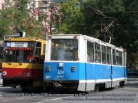 Ростов-на-Дону. 71-605У (КТМ-5У) №024, Tatra T6B5 (Tatra T3M) №825