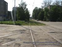 Рязань. Полуразобранный поворот на Черновицкую улицу
