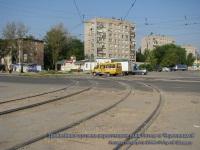 Рязань. Трамвайные пути на пересечении улиц Гоголя и Черновицкой