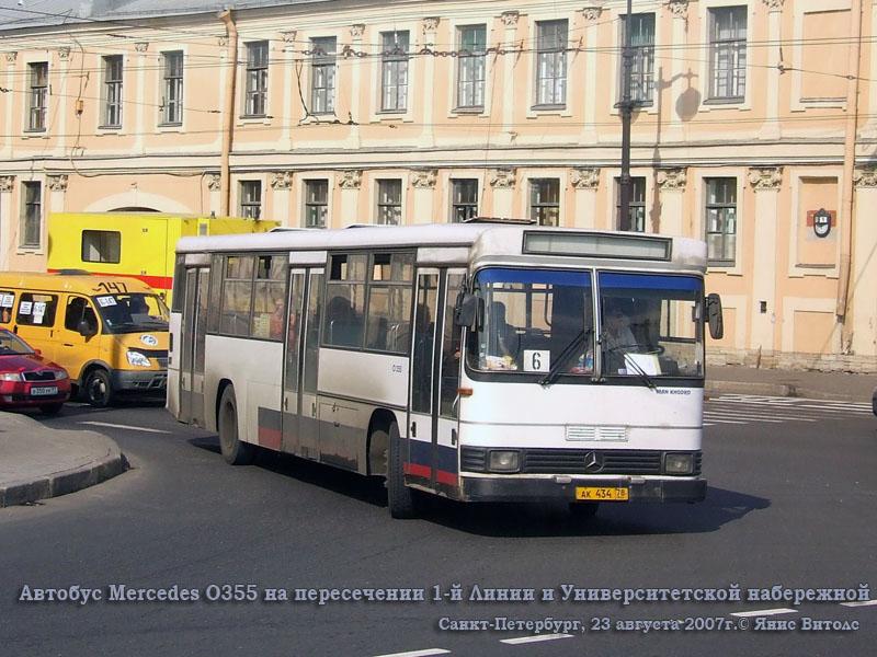 Санкт-Петербург. Iran Khodro (Mercedes-Benz O355) ак434