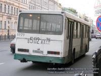 Санкт-Петербург. ЛиАЗ-5256 в502ах