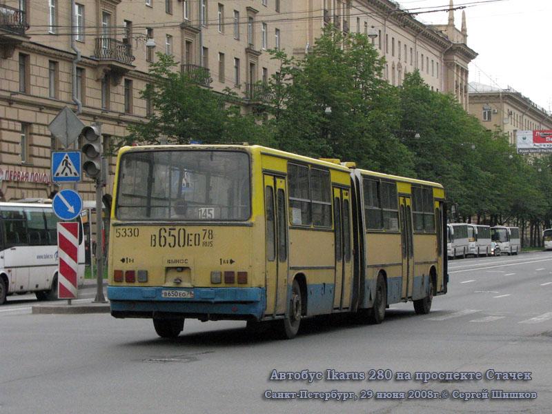 Санкт-Петербург. Ikarus 280 в650ео