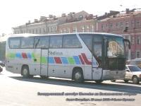 Санкт-Петербург. Экскурсионный автобус Mercedes-Benz на Васильевском острове