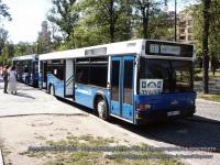 Санкт-Петербург. Автобусы МАЗ-103 (в307тт-78rus и в304тт-78rus) - передвижные туалеты на Кронверкском проспекте