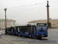 Санкт-Петербург. Автобусы МАЗ-103 - передвижные туалеты на Дворцовой площади