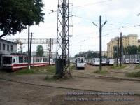 Санкт-Петербург. Площадка отстоя трамвайного парка №1