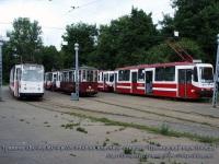 Санкт-Петербург. МС-4 №2642, ЛВС-86К №3425, 71-134А (ЛМ-99АВ) №8319