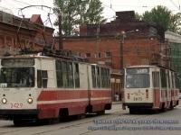 Санкт-Петербург. ЛВС-86К-М №3075, ЛВС-86К №3429