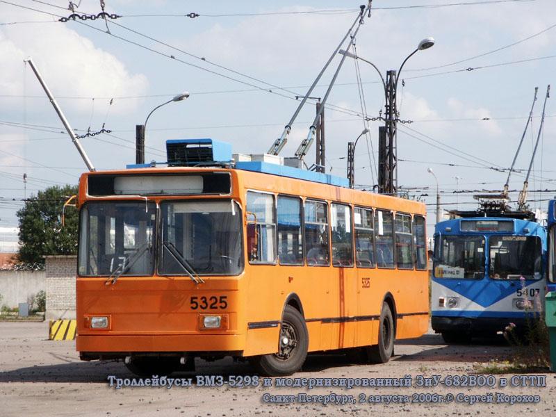 Санкт-Петербург. ВМЗ-5298 №5325, ЗиУ-682ВОО №5407
