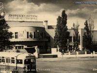 Таганрог. Автобус ЗиС-155 на пересечении улицы Ленина и Гоголевского переулка
