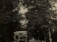 Таганрог. Автобус ЗиС-8 на дороге к новотрубному цеху завода имени Андреева