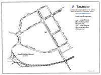 Таганрог. Схема организации движения во время закрытия моста на Бакинской улице