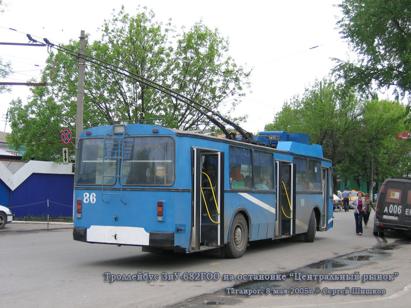 Таганрог. ЗиУ-682Г00 №86