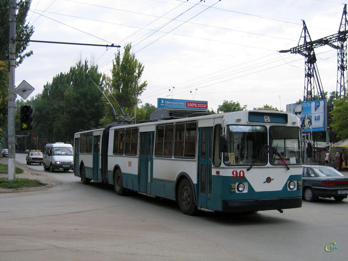 Таганрог. ЗиУ-683В №90, ГАЗ-32213 х088нв