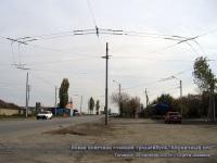 Таганрог. Новая конечная станция троллейбуса №3 Кирпичный цех