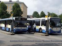 Тампере. Scania L113CLL BGO-836, Scania L94 BLF-566