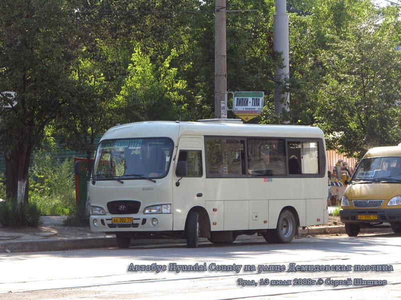 Тула. Hyundai County SWB аа302