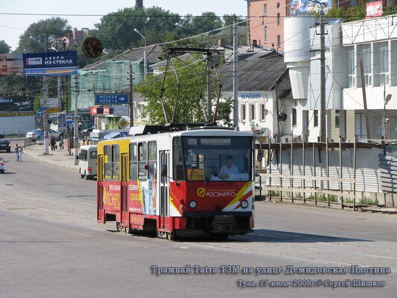 Тула. Tatra T6B5 (Tatra T3M) №317
