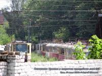 Тула. Списанные трамваи на территории закрытого трамвайного депо №1